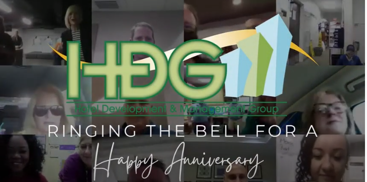 HDG rings the bell to celebrate the anniversary of our Comfort Suites – Dunnellon