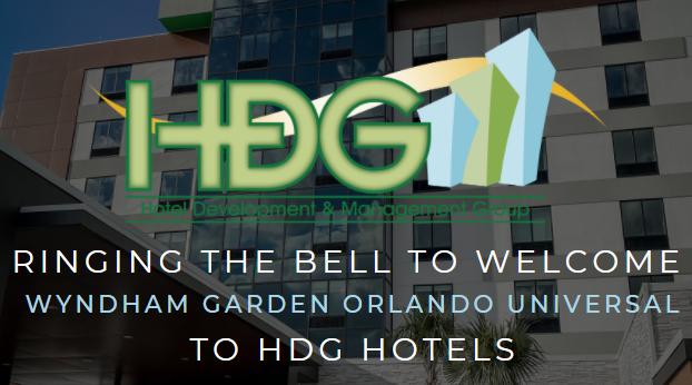 HDG has added Wyndham Garden – Orlando Universal to its management portfolio