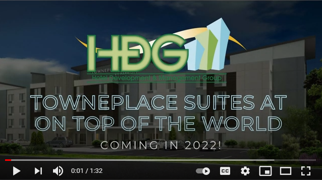 HDG's TownePlace Suites by Marriott at On Top of the World coming 2022!