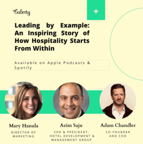 Podcast Episode: Leading by Example: An Inspiring Story of How Hospitality Starts From Within
