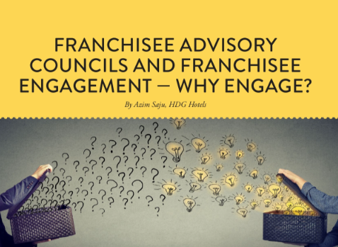 Franchisee advisory councils and franchisee engagement – why engage?